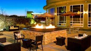 Westin BWI fire pit